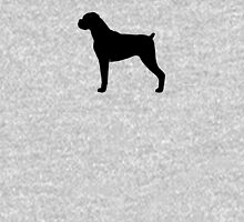 Boxer Dog Silhouette T-Shirt