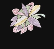 Pastel Flower Womens Fitted T-Shirt