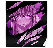 future diary mirai nikki yuno gasai sexy anime manga shirt Poster