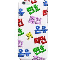 SHINee 'colorful' iPhone Case/Skin
