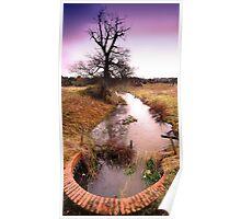 Purwell Fields No. 2 - (Hitchin, Hertfordshire) Poster