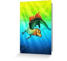 Draco Spinus Greeting Card