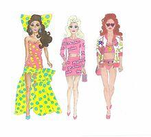 Moschino Barbies by jojo456