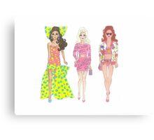 Moschino Barbies Canvas Print