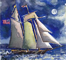 The  Pride of Baltimore VI by Phyllis Dixon