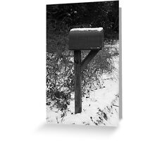 Waitin' on the Mail. . . Greeting Card