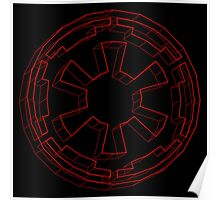 Star Wars Imperial Crest - 4 Poster