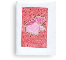 Valentine Cookies Canvas Print