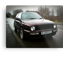 VR6 Golf mk 2.5 part II Metal Print