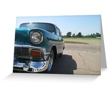 57 Chevy 500 Greeting Card