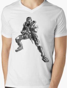 halo master chief Mens V-Neck T-Shirt