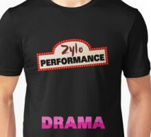 Zylo Performance Drama Pink Unisex T-Shirt