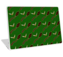 Quidditch Pattern (Slytherin) Laptop Skin