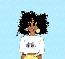 LEGALIZE MELANIN M (ABA) by MadisynMahagoni