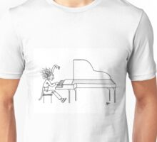 Concerto del piano (Ink Drawing) Unisex T-Shirt
