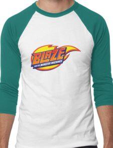 blaze and the monster machines Men's Baseball ¾ T-Shirt