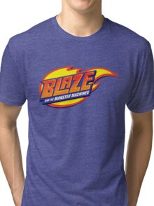 blaze and the monster machines Tri-blend T-Shirt