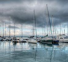 Barche al porto by Andrea Rapisarda