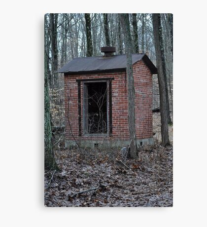 Dynamite shack Canvas Print