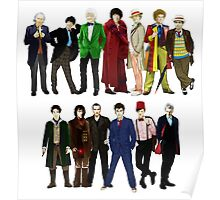 Doctor Who - The 13 Doctors Poster