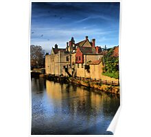 The Arch Bishops Palace Maidstone (HDR) Poster