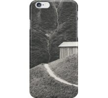 HILLSIDE HUT iPhone Case/Skin