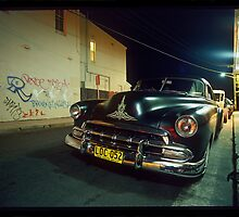 Black Chevy by Mike Buick