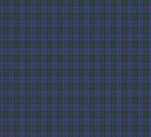 00103 Bermuda Blue District Tartan  by Detnecs2013