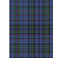 00103 Bermuda Blue District Tartan  Photographic Print