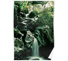 Misty Waterfall - Gouganbarra - Ireland Poster