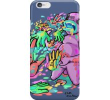 carnihell #26 Barf Hands iPhone Case/Skin