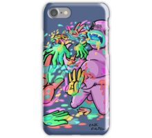 Barf Hands iPhone Case/Skin
