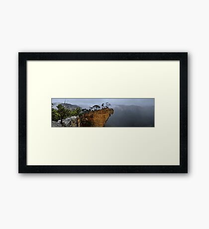 Just Mist-ified Framed Print