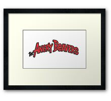 The Angry Beavers 1 Framed Print