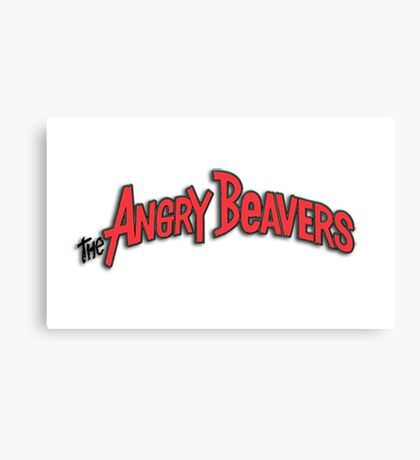 The Angry Beavers 1 Canvas Print