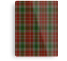 00106 British Columbia District Tartan  Metal Print