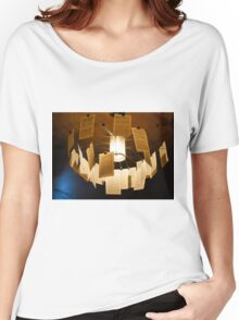 Pages Chandelier... Women's Relaxed Fit T-Shirt