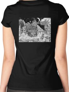 Warm Against the Night Women's Fitted Scoop T-Shirt