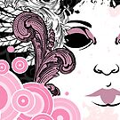 Blossom Girl Cards and Prints by BeataViscera