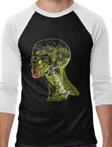 Zombie Fed Men's Baseball ¾ T-Shirt
