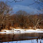 Wintery Black River by mlaprade