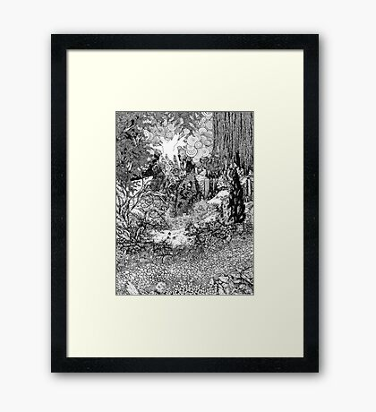 What Was Lost Framed Print