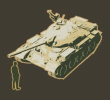 Tank Man AKA The Unknown Rebel by LibertyManiacs