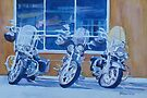 Three Choppers by JennyArmitage