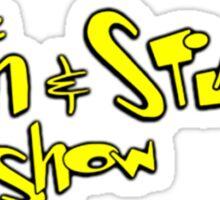 The ren and stimpy show Sticker