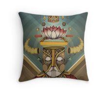 Hell Lotus Throw Pillow