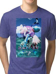 Ikaros Vaporwave Tri-blend T-Shirt