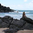 Mermaid???? Double Island Point, Qld by aussiebushstick