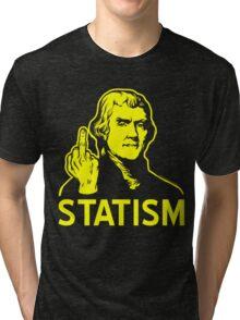 Jefferson F Statism Tri-blend T-Shirt