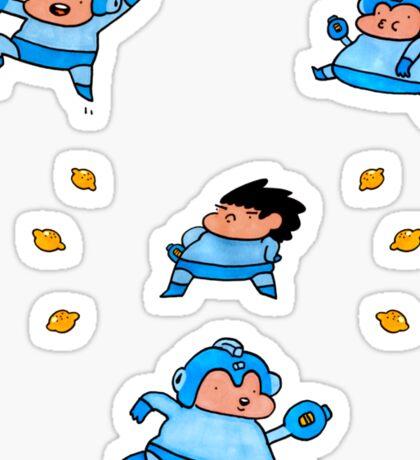 Morga Min Sticker